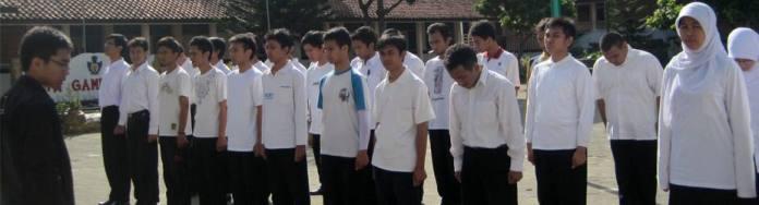 Baris Berbaris Masa Internalisasi PPSDMS Nurul Fikri